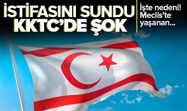 Son dakika | KKTC'de flaş gelişme! Başbakan Ersan Saner istifasını sundu