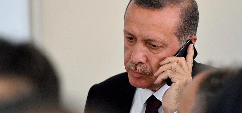 ERDOĞAN'DAN SRİ LANKA DEVLET BAŞKANI'NA TELEFON