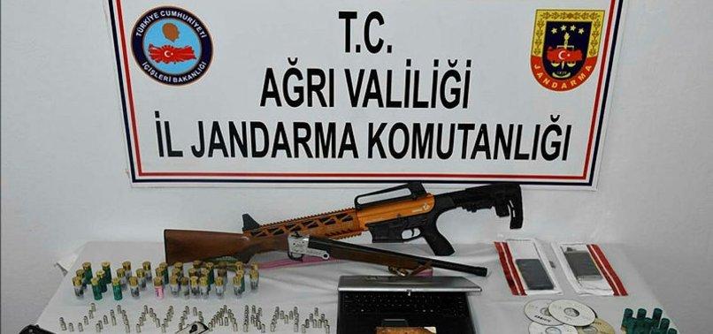 AĞRI'DA TERÖR ÖRGÜTÜ PKK'YA OPERASYON