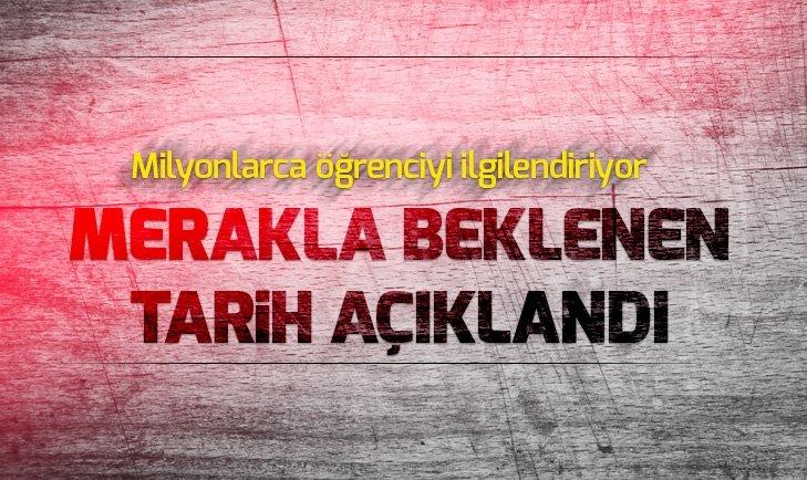 2019 YKS TARİHİ BELLİ OLDU!