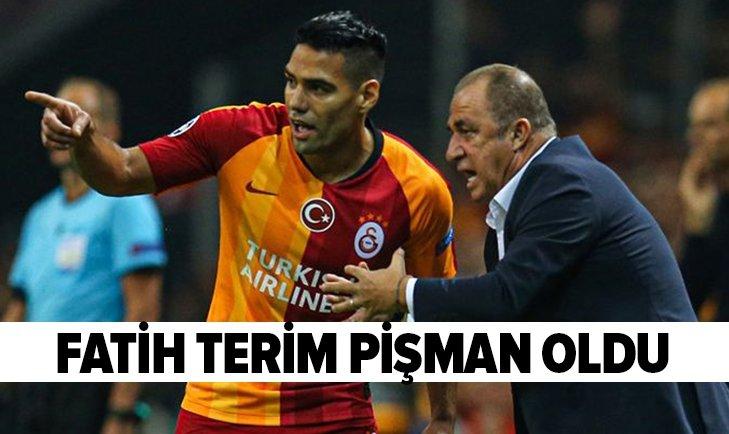 FATİH TERİM'İN FALCAO PİŞMANLIĞI!