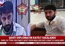 Son dakika: Erbil'de şehit edilen diplomatın katili yakalandı |Video