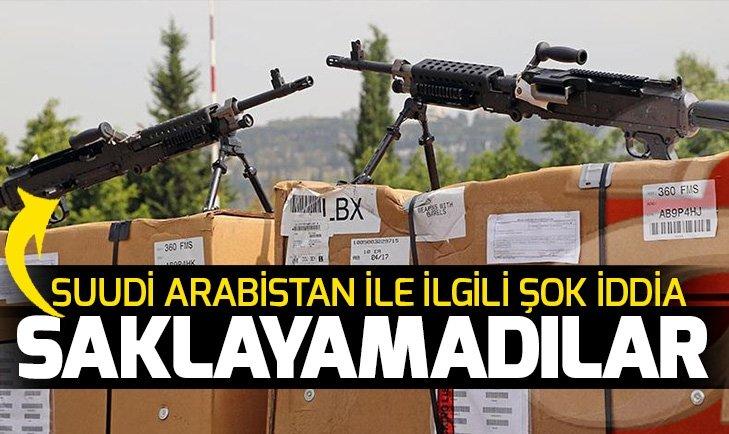 Suudi Arabistan'ın kirli ilişkileri ortaya çıktı! Suudi Arabistan ABD'den aldığı silahları...