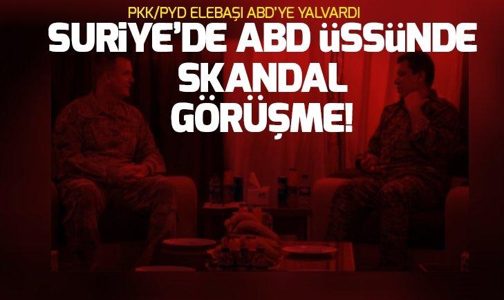 ABD'li General Votel terörist PKK/PYD elebaşlarında Şahin Cilo ile görüştü