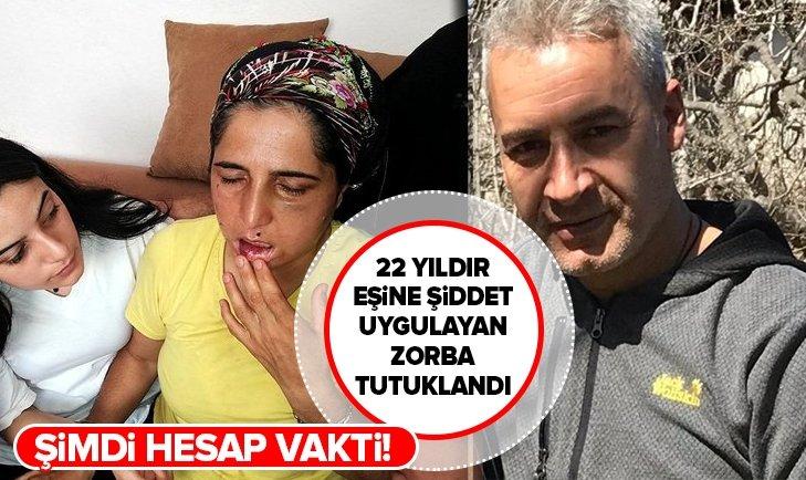 22 yıldır şiddet gören Hatice Bengi'nin eşi tutuklandı