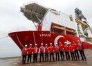 Doğu Akdeniz'den yeni haber: Yavuz gemisi sondaja başladı