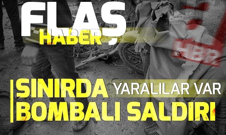 SON DAKİKA: TÜRKİYE-SURİYE SINIRINDAKİ EL BAB'DA PATLAMA