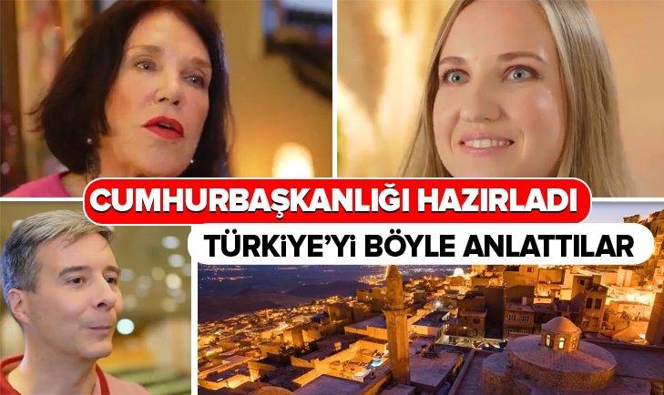 CUMHURBAŞKANLIĞI HAZIRLADI! TÜRKİYE'Yİ BÖYLE ANLATTILAR