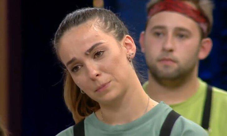 Masterchef'te Mehmet Şef ve Tanya arasında gergin anlar! Gözyaşlarına boğuldu