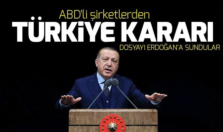 Cumhurbaşkanı Erdoğan, ABD'li yatırımcılarla buluştu! ABD'li şirketler Türkiye yatırımlarına devam edecek