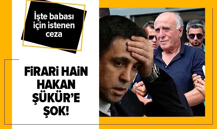 FETÖ firarisi Hakan Şükür'e şok!