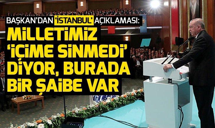 Son dakika: Başkan Erdoğan'dan Kızılcahamam'da açıklamalar