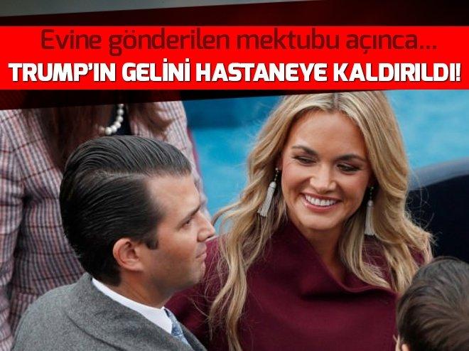 TRUMP'IN GELİNİ HASTANEYE KALDIRILDI