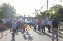 HDP'nin Siirt'te düzenlediği mitingde alan boş kaldı