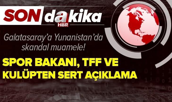 Galatasaray'a skandal tavır!