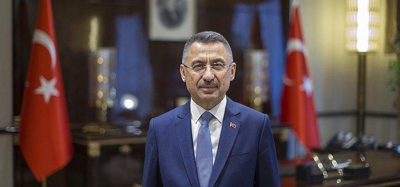 Son dakika: Cumhurbaşkanı Yardımcısı Fuat Oktay'dan Akdeniz'de Türk gemisindeki hukuk dışı aramaya tepki