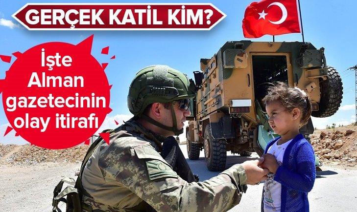 ALMAN GAZETECİDEN 'KATİL' İTİRAF
