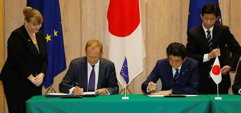 Avrupa Birliği ve Japonya serbest ticaret anlaşmasına imza attI