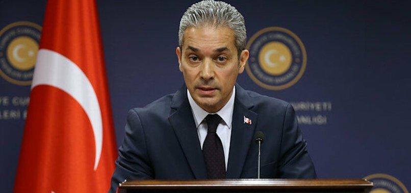 Son dakika... Dışişleri Bakanlığından ABD'ye Oruç Reis yanıtı: Gerginliği artıran taraf Türkiye değil, GKRY ve Yunanistan'dır