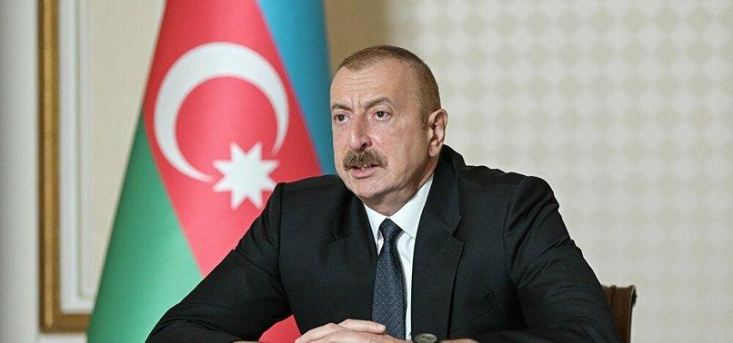 Azerbaycan Cumhurbaşkanı Aliyev: Karabağ'a barış gücü yerleştirilmesine karşı değiliz
