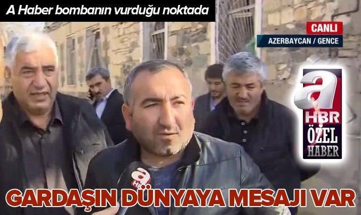 Azerbaycanlı kardeşlerimizin dünyaya bir mesajı var