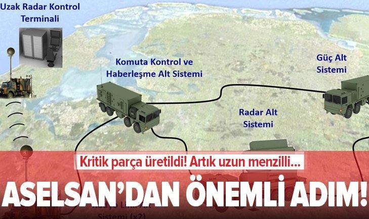 ASELSAN'DAN ÖNEMLİ ADIM! KRİTİK PARÇA ÜRETİLDİ