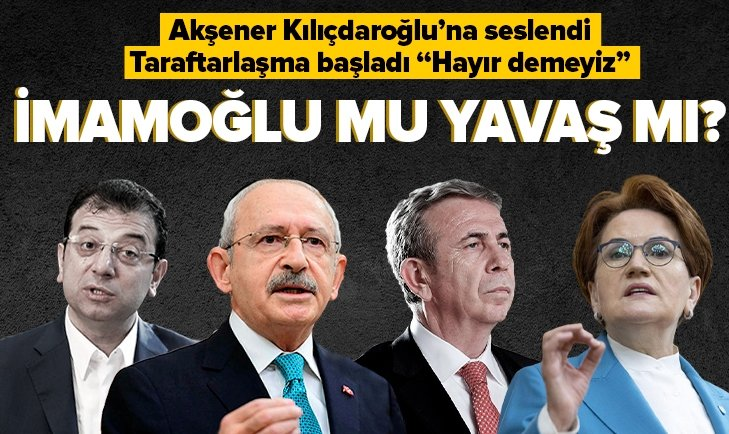 Akşener'den Kılıçdaroğlu'na 2023 çağrısı