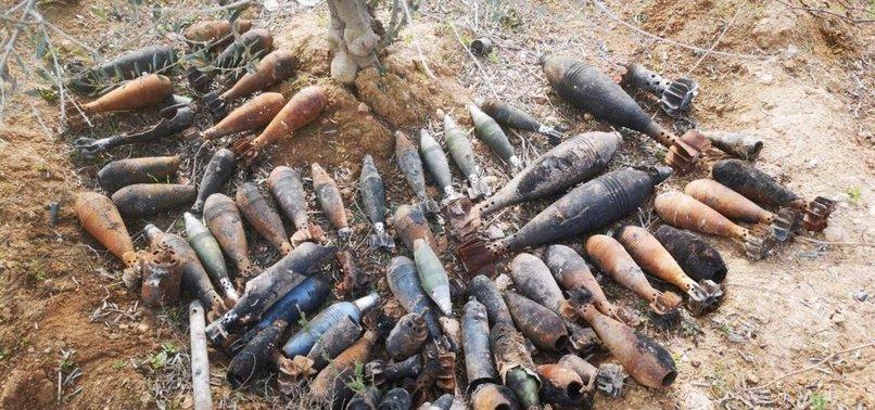 MSB: BARIŞ PINARI BÖLGESİNDE YPG'NİN TUZAKLADIĞI...