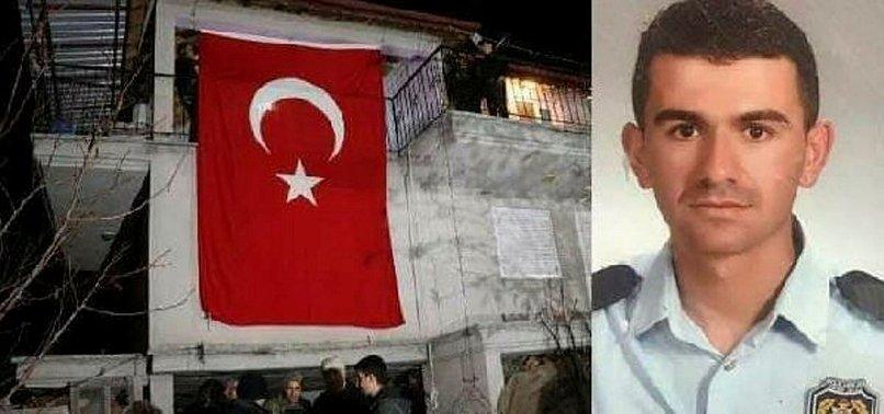 ŞEHİT POLİS MEMURU BÜYÜK FACİAYI ÖNLEMİŞ!