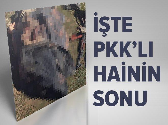 İŞTE MARDİN'DEKİ PKK'LI HAİNİN SONU!