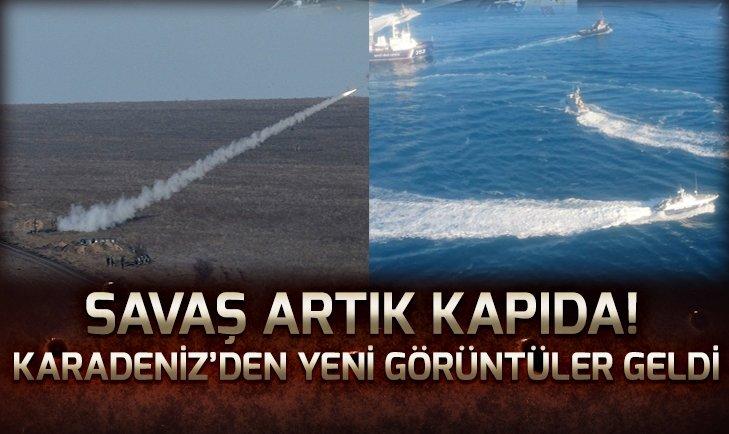 Karadeniz'de savaş rüzgarı! Yeni fotoğraflar geldi