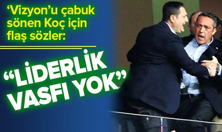 ERMAN TOROĞLU'NDAN ALİ KOÇ'A SERT SÖZLER!
