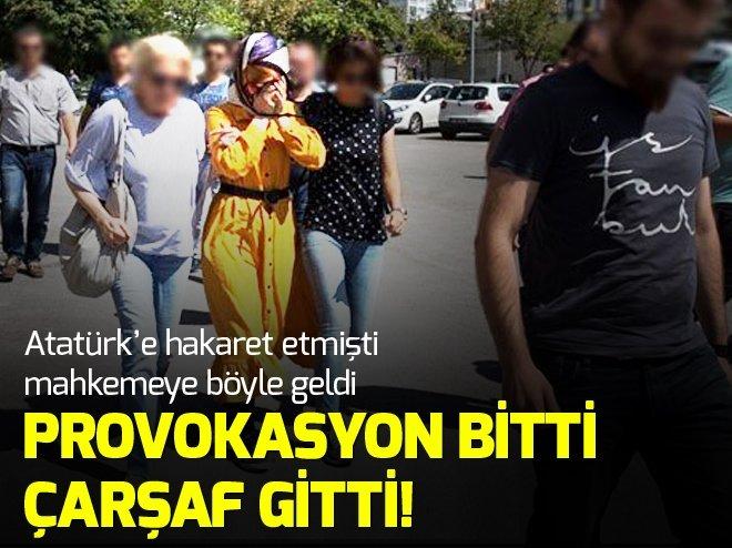 Atatürk'e hakaret eden Safiye İnci böyle tutuklandı
