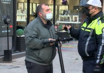 İstanbul'da elektrikli scooter denetimi! Kurallara uymayanlara ceza