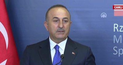Son dakika: Dışişleri Bakanı Mevlüt Çavuşoğlu'ndan Yunanistan'a yanıt: Gereğini yaparız