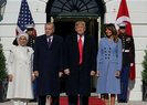ABD Başkanı Trump, Başkan Erdoğan'ı böyle karşıladı