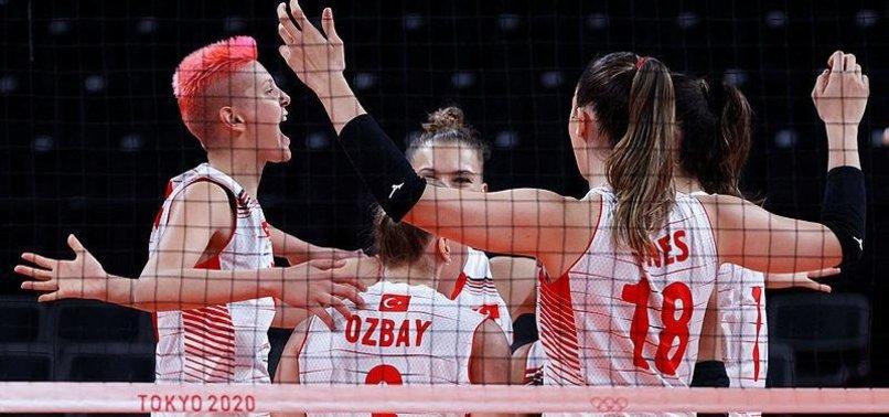 Filenin Sultanları Tokyo'da ilk maçı kazandı! Türkiye - Çin: 3-0