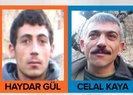 Arananlar listesindeki 2 PKK'lı terörist öldürüldü