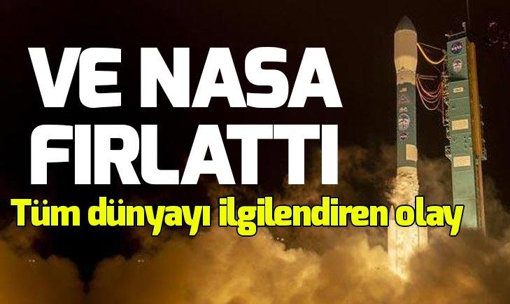 TÜM DÜNYAYI İLGİLENDİREN OLAY! NASA FIRLATTI...