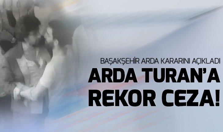 Başakşehir'den Arda Turan kararı