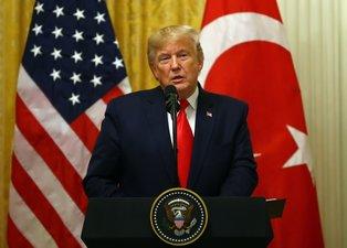 Donald Trump'tan basın toplantısında provokasyon önlemi!