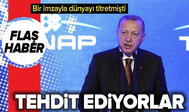 Erdoğan'dan dünyayı titreten anlaşmayla ilgili flaş sözler