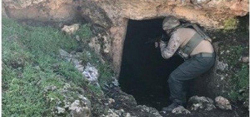 İDİL'DEKİ PKK İNLERİ İMHA EDİLDİ