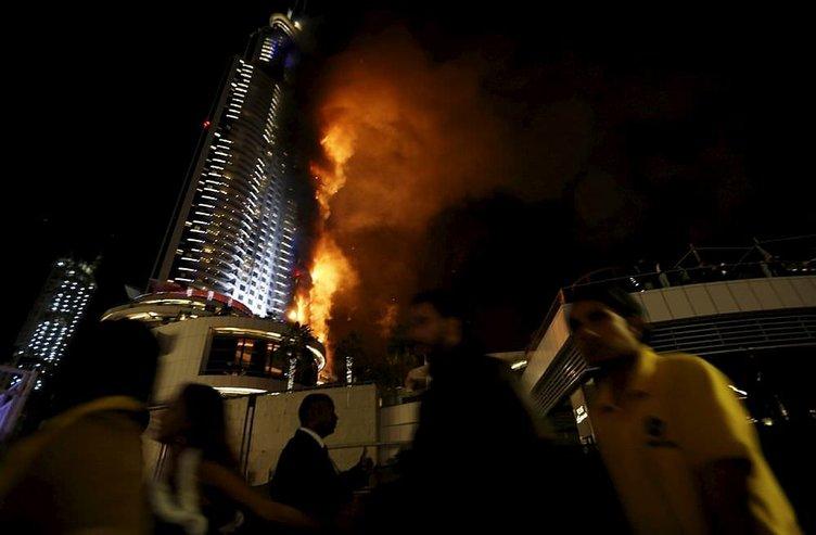 Пожар в отеле дубаи
