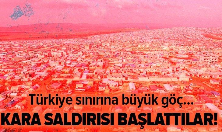 ESAD REJİMİ KARA SALDIRISI BAŞLATTI!