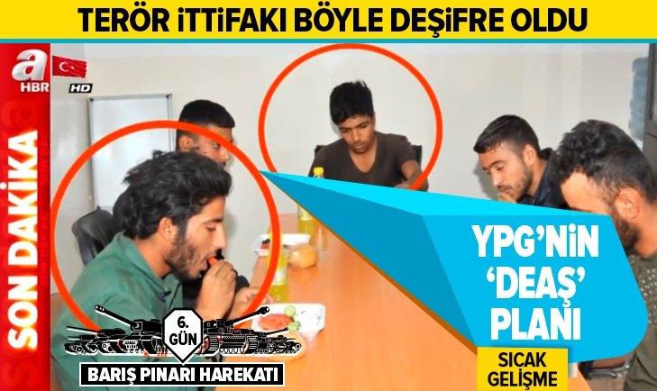 YPG'NİN KİRLİ PLANI DEŞİFRE OLDU