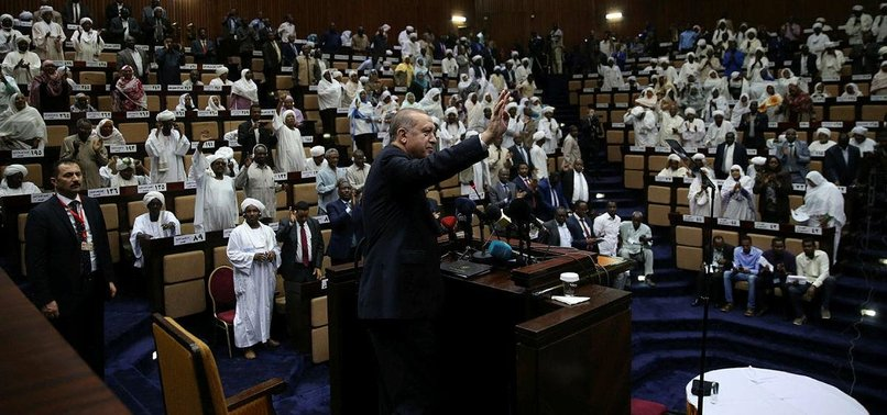 SUDAN'DAN TÜRKİYE'YE ÇAĞRI
