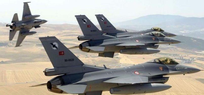 TSK, PKK'YA 2 BÖLGEDE BOMBA YAĞDIRDI