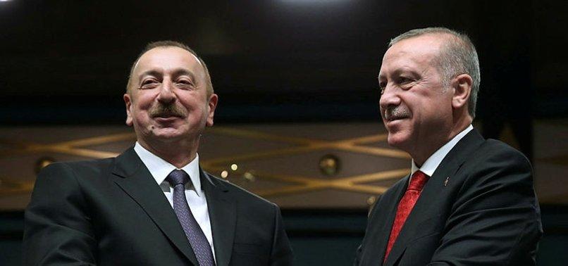 AZERBAYCAN CUMHURBAŞKANI İLHAM ALİYEV'DEN TÜRKİYE'YE BÜYÜK ÖVGÜ