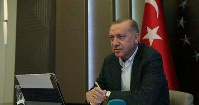 Başkan Erdoğan'dan minik Elif'e: Geçmiş olsun canım yavrum